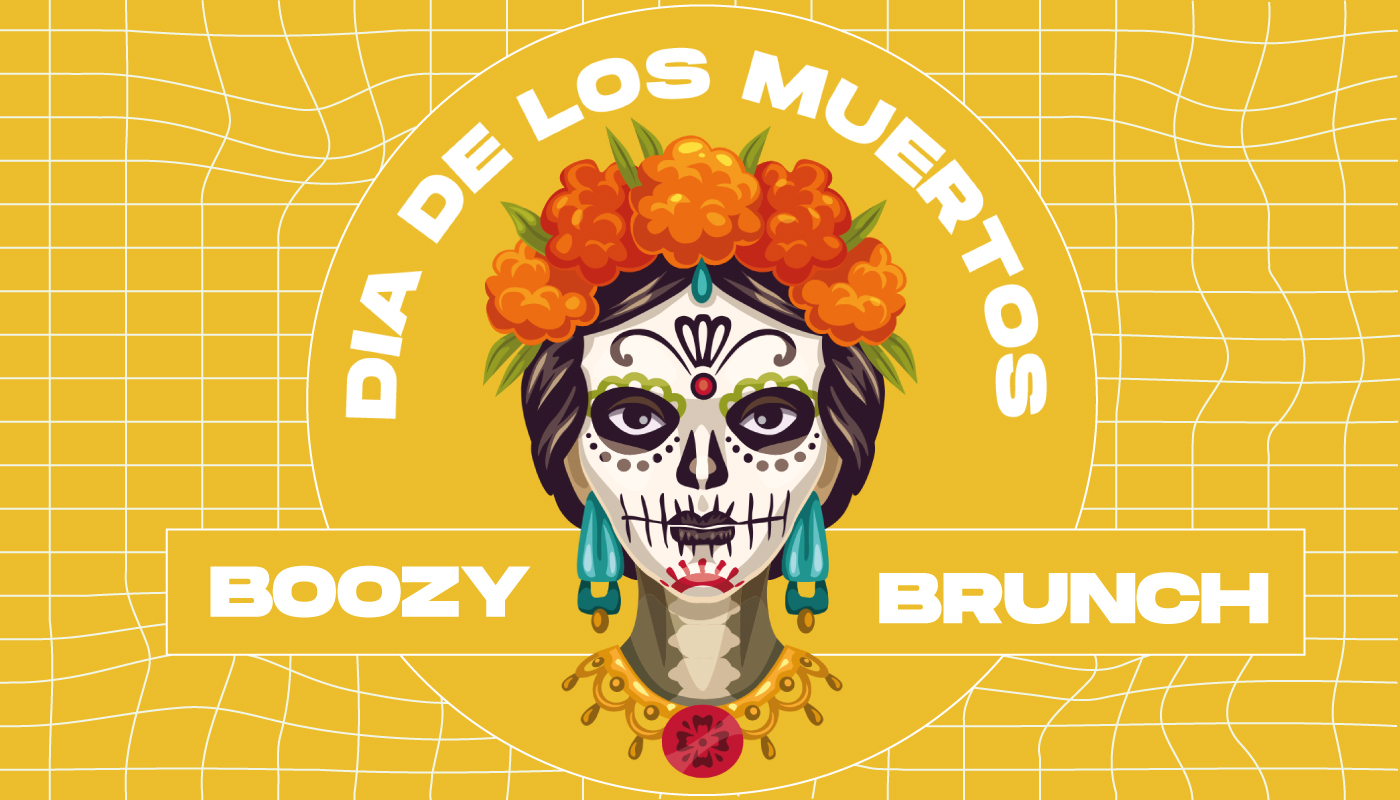 Day of the dead bottomless brunch